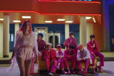BTS teases 'Boy with Luv' music video featuring Halsey