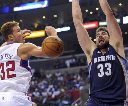 Spanish Memphis Grizzlies C Marc Gasol to miss Olympics