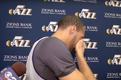 Jazz center Rudy Gobert breaks down in tears after All-Star snub