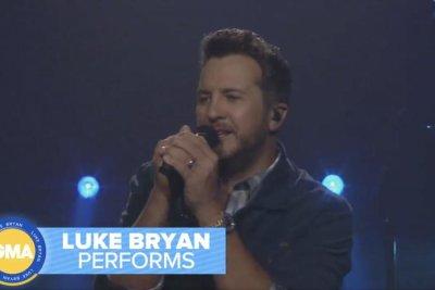 Luke Bryan performs 'Waves' on 'Good Morning America'