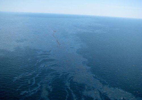 Oil rig explosion