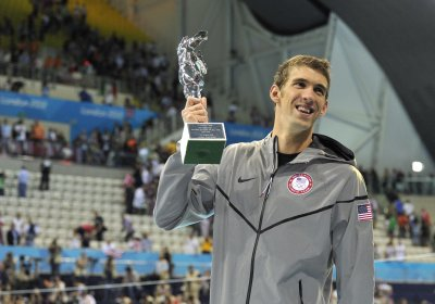 Olympic Roundup: Phelps is twice as great