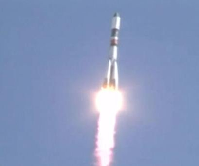 Russian rocket successfully launches, en route to ISS