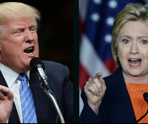 UPI/CVoter poll: Clinton has less than 1 point lead over Trump