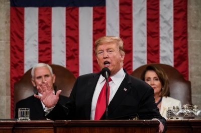 Trump in State of the Union: 'We must go forward together'