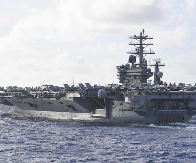 China issues warning following U.S. aircraft carrier drills