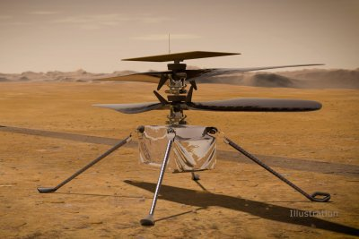 After intense testing, Mars helicopter Ingenuity ready to fly