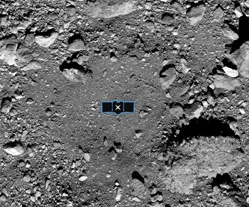 NASA's OSIRIS-REx touches down on asteroid Bennu to nab sample
