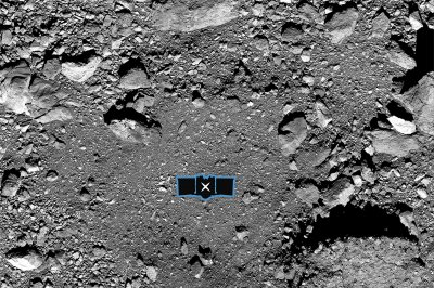 NASA's OSIRIS-REx touches down on asteroid Bennu to nab sample