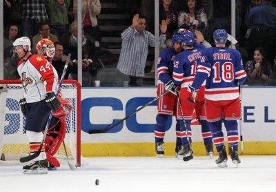NHL: New York Rangers 4, Florida 1