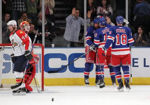 NHL: New York Rangers 4, Florida 1