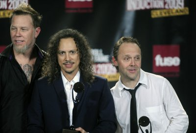 Metallica joins Rock and Roll Hall of Fame