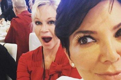 Kris Jenner, Melanie Griffith snap selfie with Dalai Lama