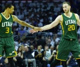 Gordon Hayward leads Utah Jazz to win, 3-2 series lead over Los Angeles Clippers