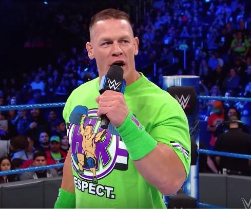 WWE Smackdown: John Cena returns, faces AJ Styles