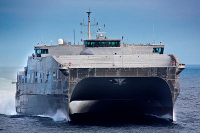 Navy accepts delivery of USNS Burlington Expeditionary Fast Transport