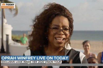 Oprah Winfrey, Weight Watchers launch '2020 Vision' tour