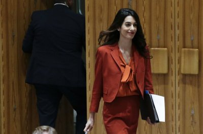 Amal Clooney quits as British media envoy over plan to break EU treaty