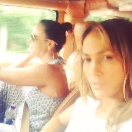 Jennifer Lopez secretly films Leah Remini dancing to Jay Z