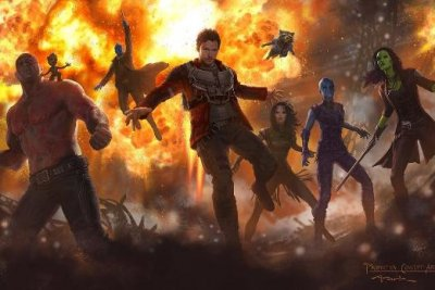 'Guardians of the Galaxy Vol. 2' reveals concept art with Mantis