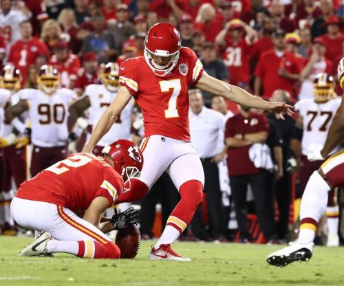 Harrison Butker leads Kansas City Chiefs over Washington Redskins