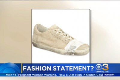 2e829c4167a Look  Taped sneakers sold by Nordstrom prompt backlash - UPI.com