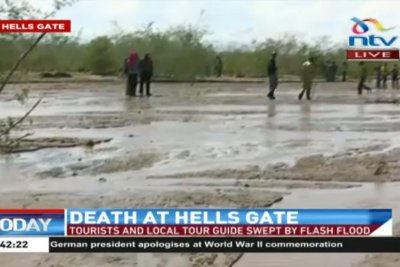 Six die in flash flood at Kenyan national park, one missing