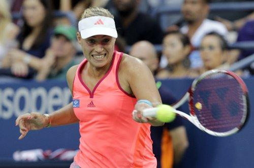 Kerber again beats Wozniacki