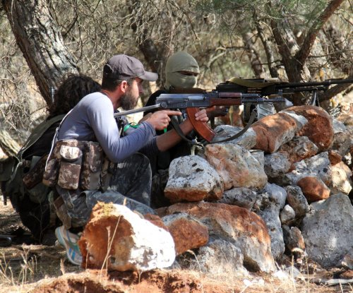 U.S.-trained Syrian rebels receive coalition air support against suspected al-Qaida attack