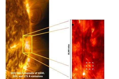 Tadpole-like jets could help explain why the sun's corona is so hot