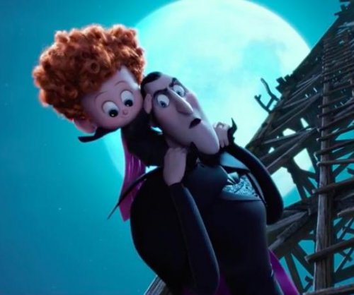 Dracula plays with his grandson in new 'Hotel Transylvania 2' trailer