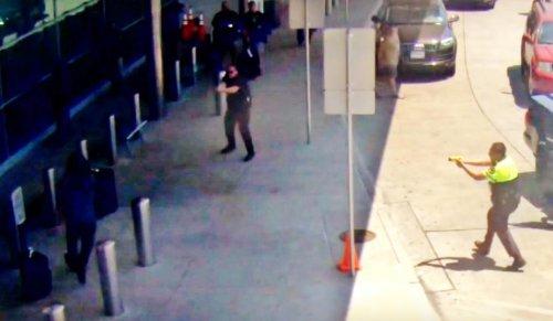 Dallas airport suspect identified; surveillance video footage shows shooting