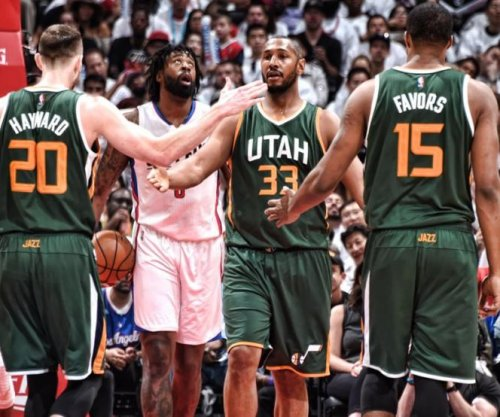 Utah Jazz may be without Derrick Favors for series opener against Golden State Warriors