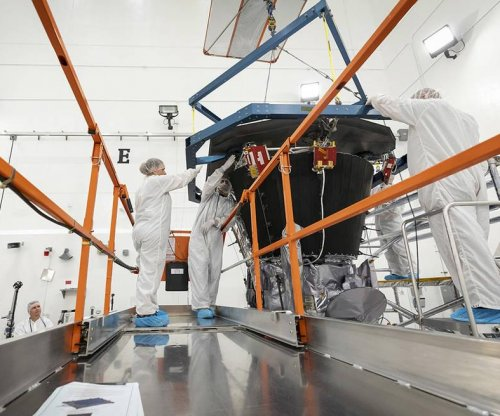 Engineers install heat shield on NASA's Parker Probe