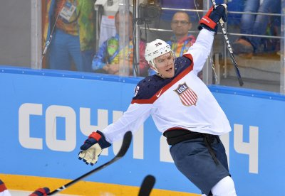 American men win Olympic hockey opener