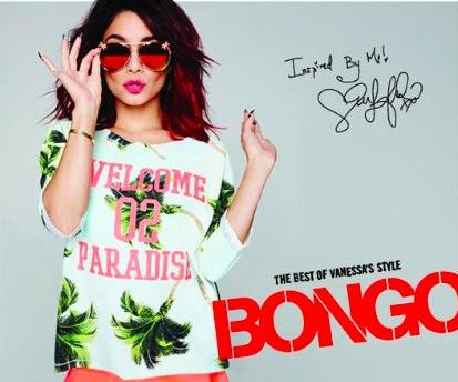 Vanessa Hudgens inspired new Bongo collection