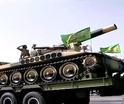 Iranians chant 'death to Israel, U.S.' during military parade