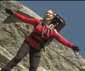 Kate Winslet recreates 'Titanic' scene with Bear Grylls