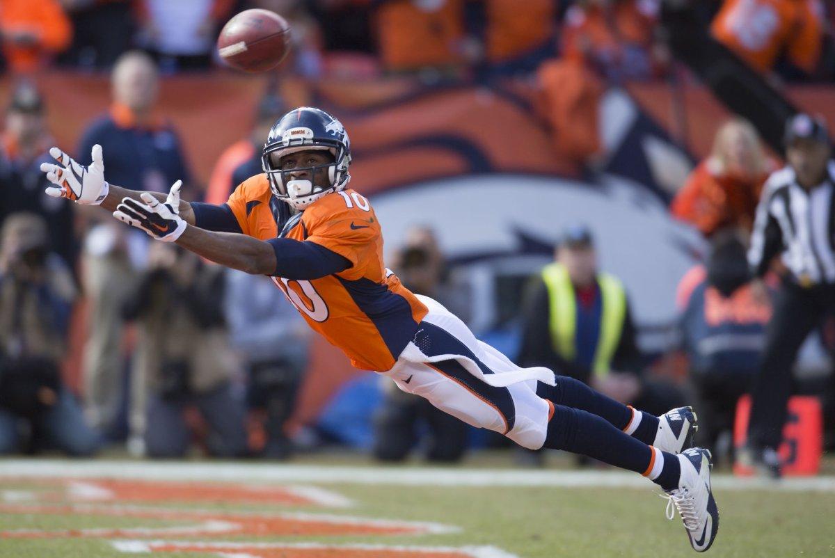Denver Broncos WRs Emmanuel Sanders Isaiah McKenzie out with