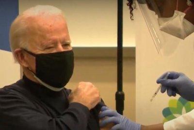 President-elect Joe Biden, Jill Biden receive COVID-19 vaccine