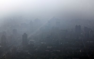 Pollution a threat to China's growth