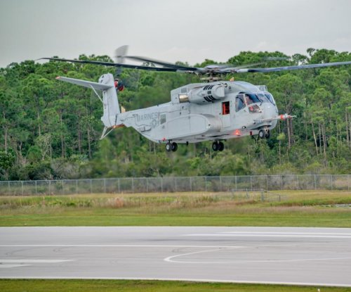 Sikorsky CH-53K helicopter takes first flight