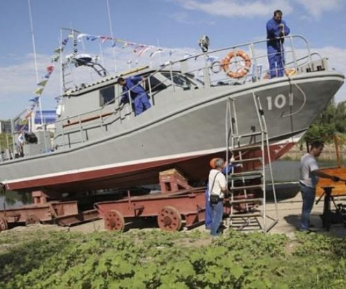 Kazakhstan's first special forces ship enters service