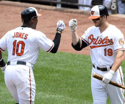 Baltimore Orioles blast four homers, take opener from Boston Red Sox