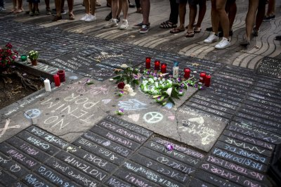 Spanish police ID Barcelona van driver; death toll rises to 15