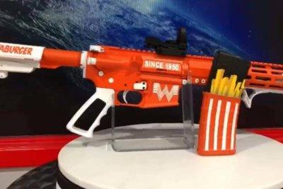 Whataburger-inspired gun draws attention at Texas store
