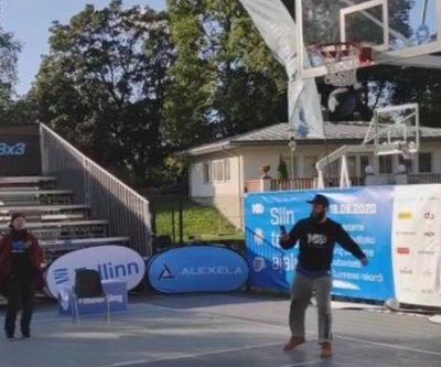 Watch: Estonians sink 114,357 free throws for basketball world record