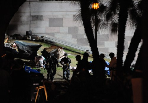 Occupy LA complains of 'intimidation'