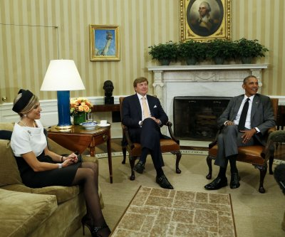 Dutch royal couple visits White House, thanks U.S. for Netherlands' freedom