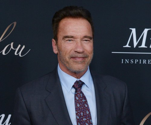 Arnold Schwarzenegger reveals new catch phrase during 'Celebrity Apprentice' premiere